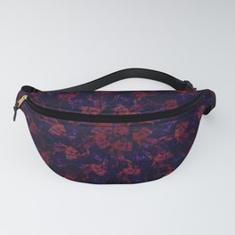 Spiral Bouquet Pattern Fanny Pack