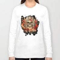 kindle Long Sleeve T-shirts featuring 301 by ALLSKULL.NET