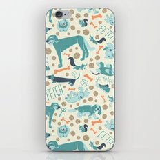 Park Dogs iPhone & iPod Skin