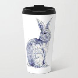 Blue Bunny Travel Mug