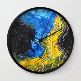 Landlines 2 Wall Clock