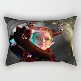 Mystical moon Rectangular Pillow