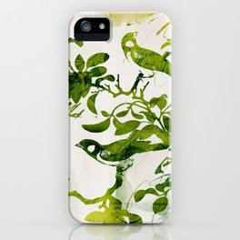 Birds (alternative) iPhone Case