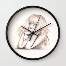 One, two, three, drink. Wall Clock