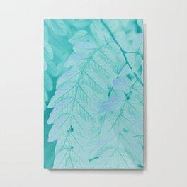 Botanical Leaves - JUSTART (c) Metal Print
