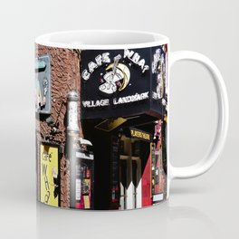 Cafe Wha? Greenwich Village NYC Coffee Mug