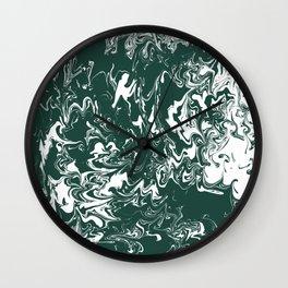 Michigan State Tie Dye Wall Clock