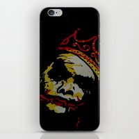 notorious big iPhone & iPod Skins featuring The Notorious BIG by Jide