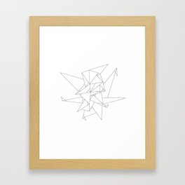 Abstract Origami Framed Art Print
