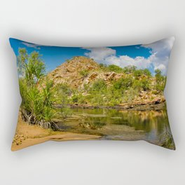 Bell Gorge Rectangular Pillow