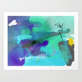 Seconds Art Print