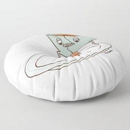 Tea Baggin' Floor Pillow