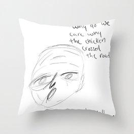 The Chicken Throw Pillow