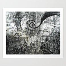 Beware Of Darkness Art Print