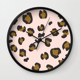SEEING SPOTS - BLUSH Wall Clock