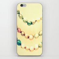 pastel iPhone & iPod Skins featuring pASTel Vintage Beads by 2sweet4words Designs