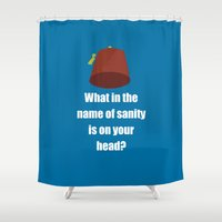 fez Shower Curtains featuring Fez by Grace Thanda