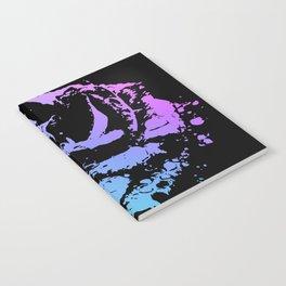 Splattered Rose Notebook