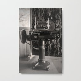 Wine in Chianti Metal Print