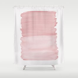 Blush Abstract Minimalism #1 #minimal #ink #decor #art #society6 Shower Curtain
