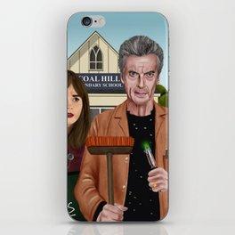 Twelfth & Clara iPhone Skin