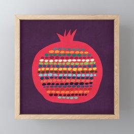 Pomegranate Framed Mini Art Print