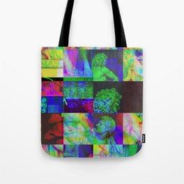Poseidon Glitch 02 Tote Bag