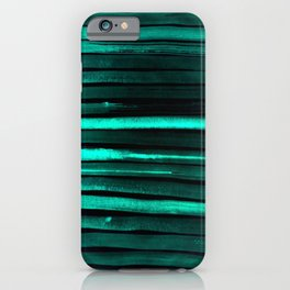 We Have Cold Winter Teal Dreams At Night iPhone Case