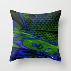 tile style Throw Pillow