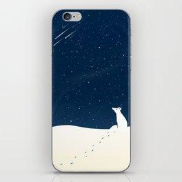 White wolf iPhone Skin