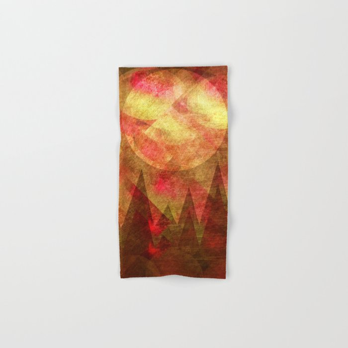Scattered Moon Hand & Bath Towel