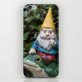 Adventure gnome iPhone Skin
