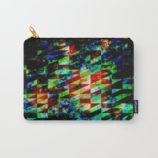 GLITCHES Carry-All Pouch