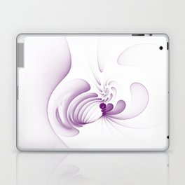 Purple Swirls Laptop & iPad Skin