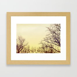 What a feeling Framed Art Print