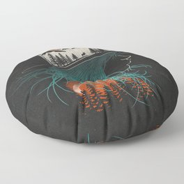Aurora... Floor Pillow