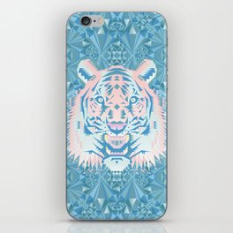 Pastel Quartz Tiger iPhone Skin