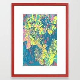 floral 002. Framed Art Print