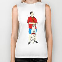swag Biker Tanks featuring #swag by WILMco