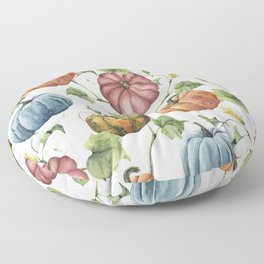 PUMPKINS WATERCOLOR Floor Pillow