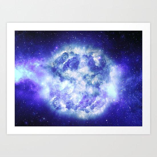 Unseen Detonation Art Print