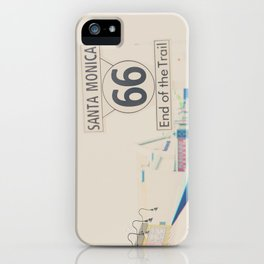 the end of route 66 ... iPhone Case