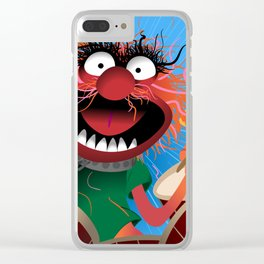 Animal Muppets' Drummer Clear iPhone Case