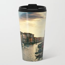 Venice on sunset Travel Mug