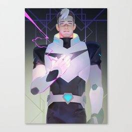 Black Paladin Canvas Print