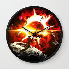 Earth: First Chapter Wall Clock