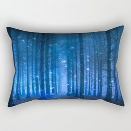 Dreamy Woods II Rectangular Pillow