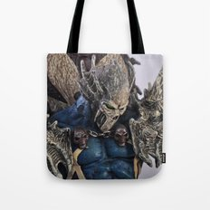 blue Spawn Tote Bag