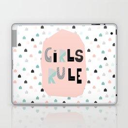 Girls Rule! Laptop & iPad Skin