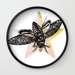 Lick a Star Wall Clock